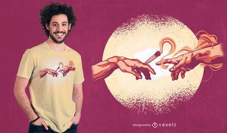 Diseño de camiseta de creación conjunta.