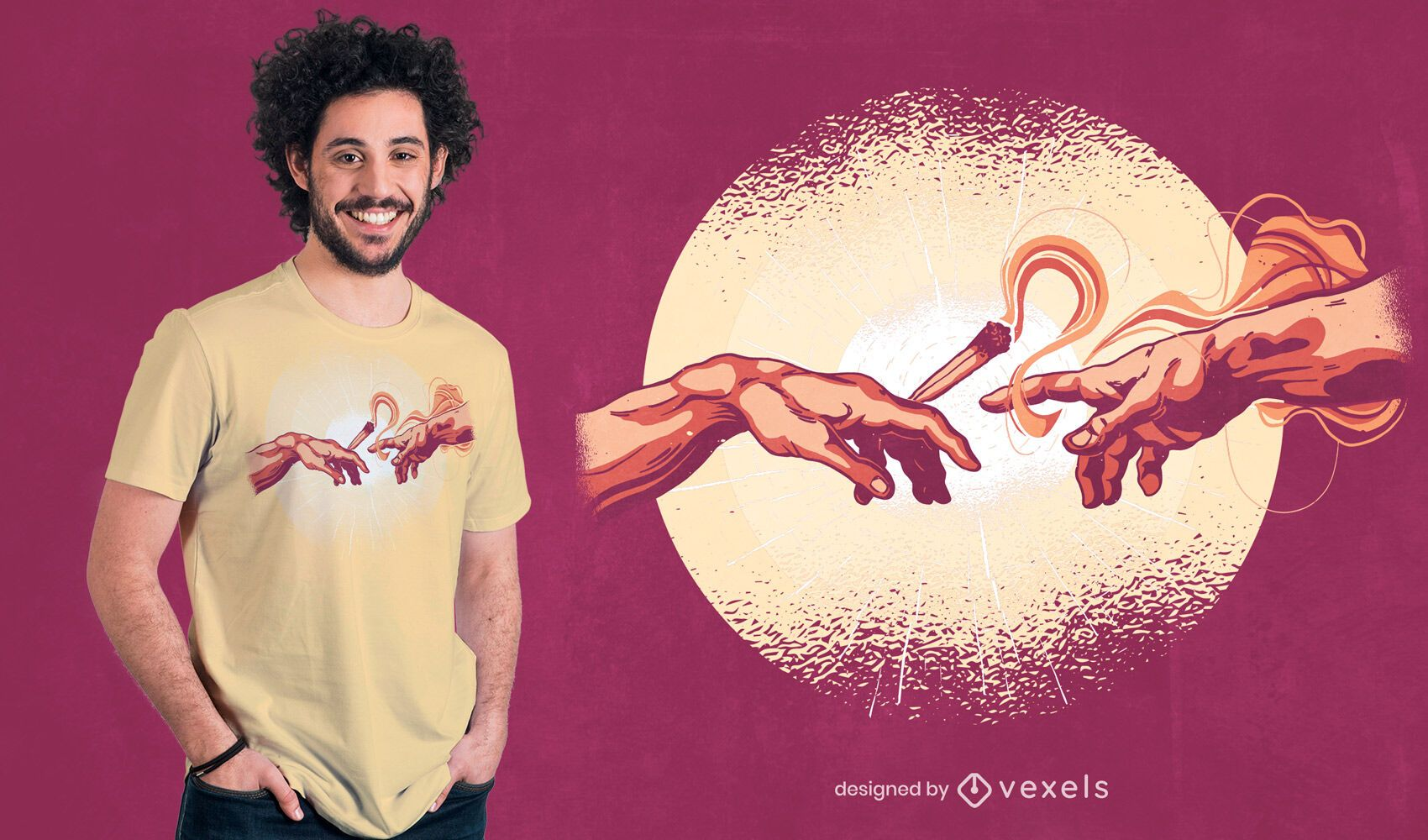 Joint creation t-shirt design