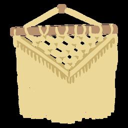 Decorative crochet flat