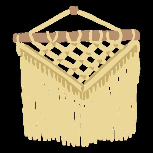 Plano de crochet decorativo
