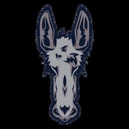 Logotipo de cabeza de burro