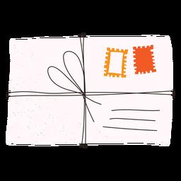 Doodle de carta envelope