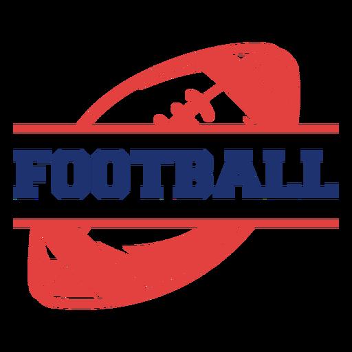 Football ball badge