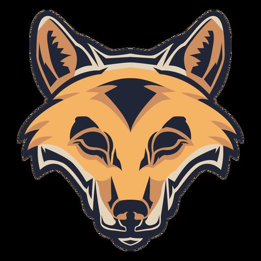 Logotipo de cabeza de zorro
