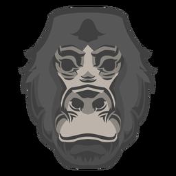Logotipo de cabeza de gorila
