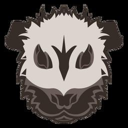 Logotipo de cabeza de conejillo de indias