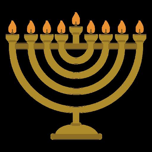 Hanukkah menorah candelabrum illustration Transparent PNG