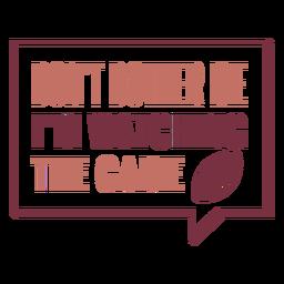 Estoy viendo las letras del juego