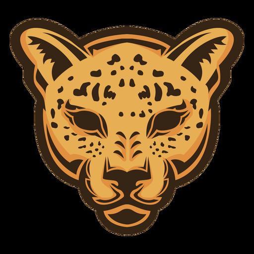 Logotipo de cabeza de jaguar