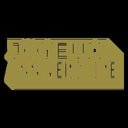 Joyeux anniversaire french lettering