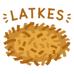 Piso judío Latkes