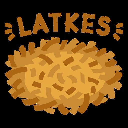 Apartamento judeu Latkes