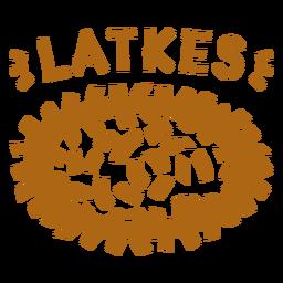 Plato judío Latkes
