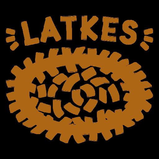 Plato judío Latkes Transparent PNG