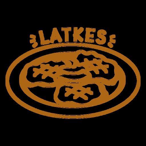 Golpe de placa Latkes Transparent PNG