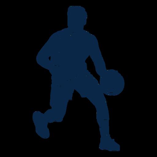 Atleta de jugador de baloncesto masculino corte
