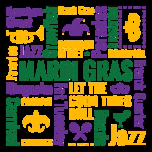 Composição de citações do emblema de carnaval