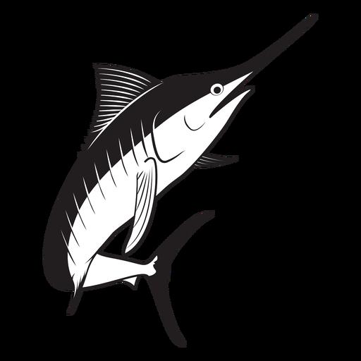 Marlin fish stroke