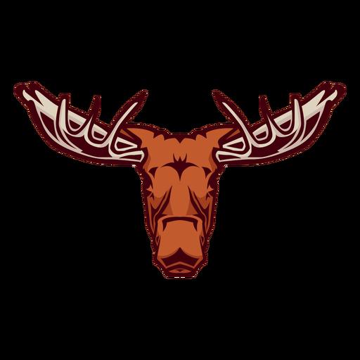 Moose head logo