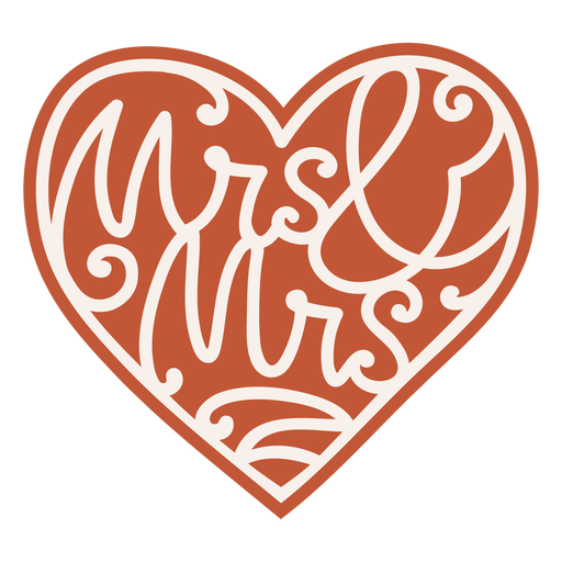 Mrs and mrs badge