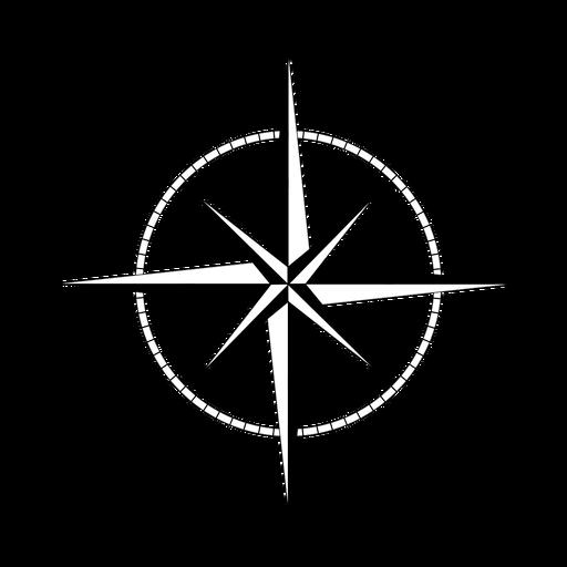 Navigation rose of the winds Transparent PNG