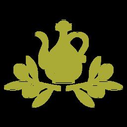 Olive oil jug twigs
