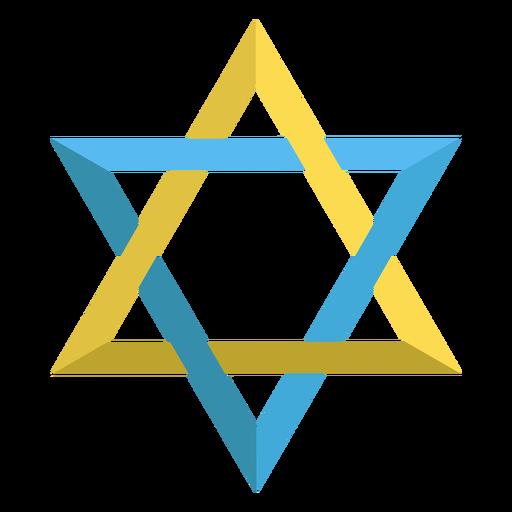Ilustração judaica da estrela de David