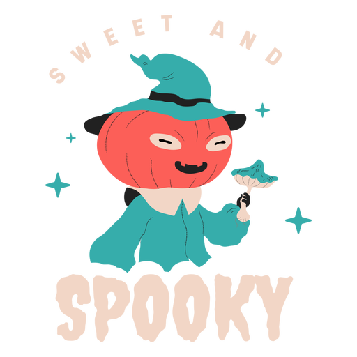 Sweet and spooky creature badge