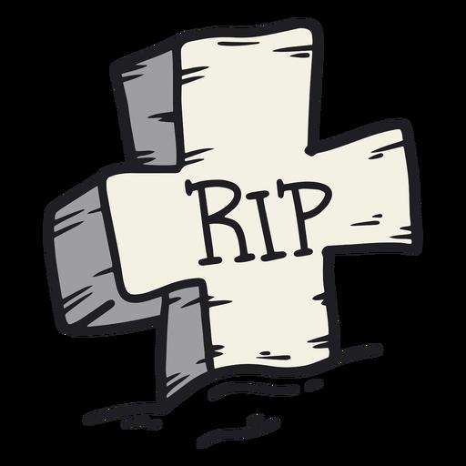 Tombstone rip retro