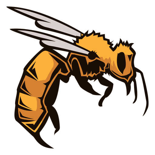 Wasp insect logo