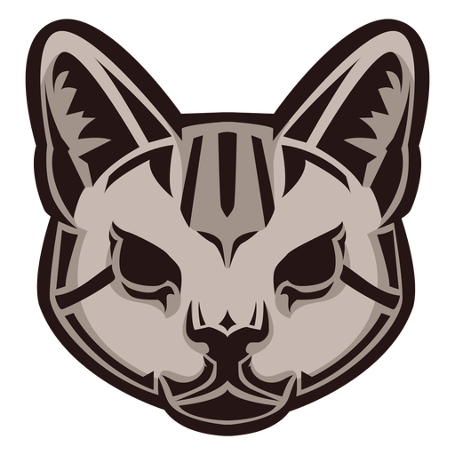 Wild cat head logo