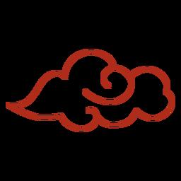 Curso de nuvem ventosa