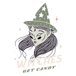 Witches get candy badge