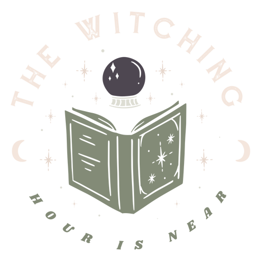 Witching hour is near badge