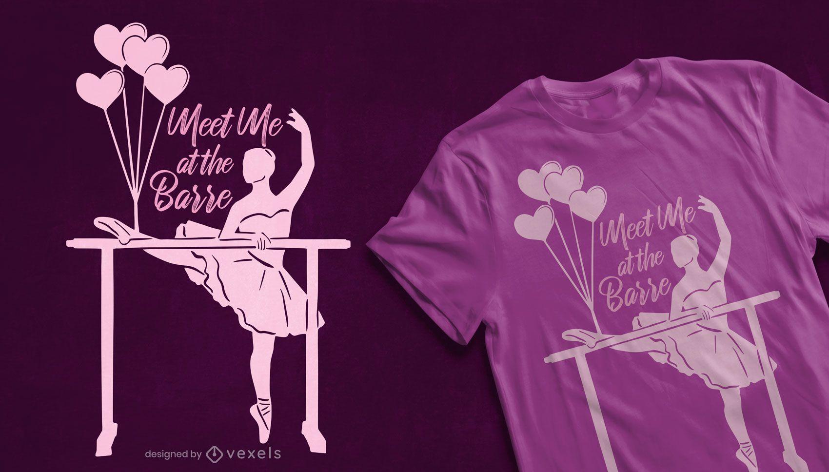 Bei der Barre T-Shirt Design