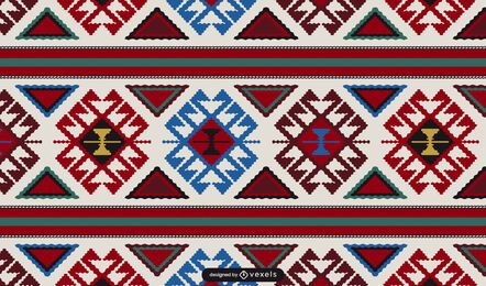 Armenian carpet pattern design