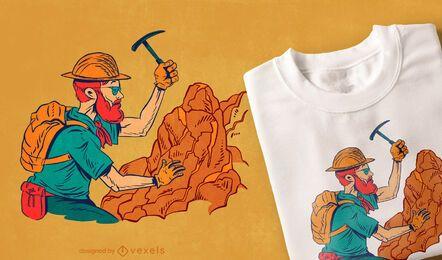 Diseño de camiseta geofísica