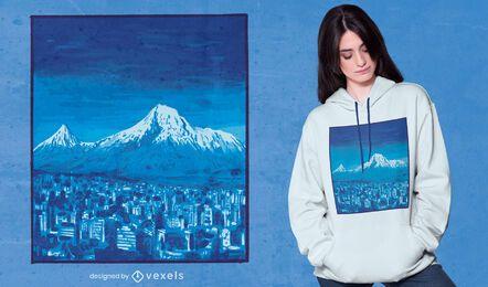 Diseño de camiseta Mount Ararat