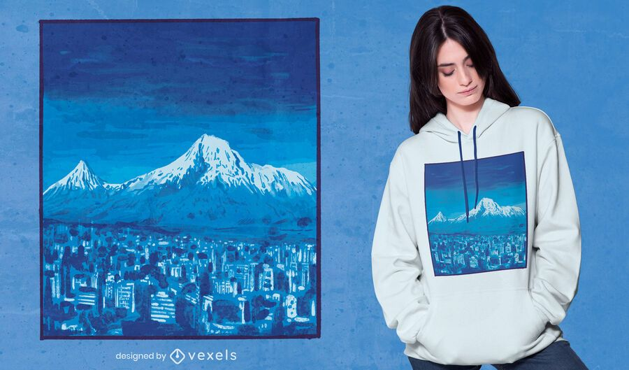 Design de camisetas do Monte Ararat