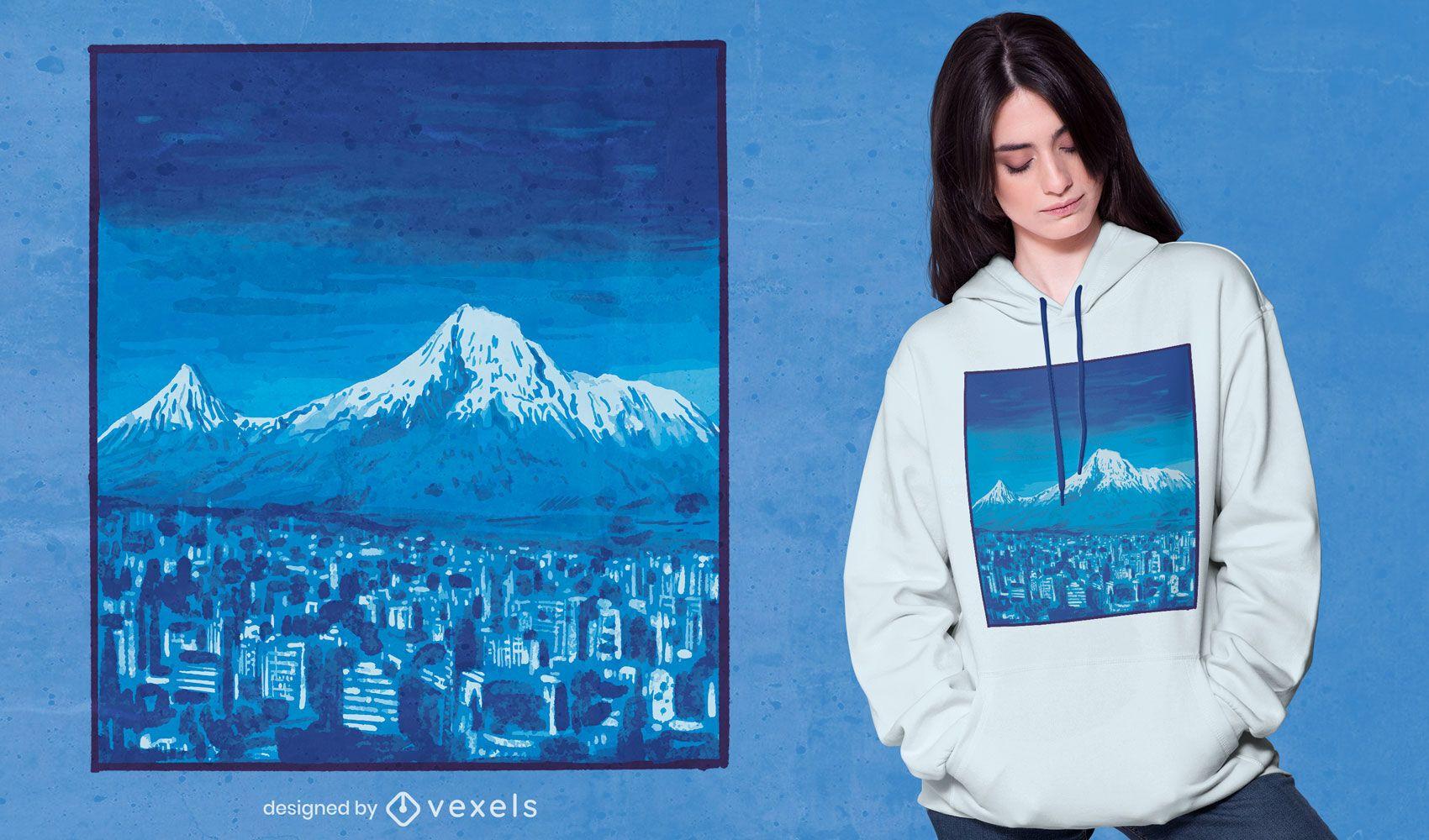 Mount Ararat t-shirt design