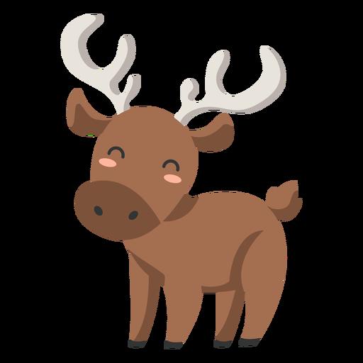 Happy Deer semi-plano