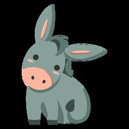 Lindo burro semi plano