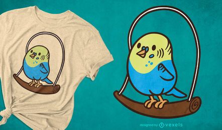 Parakeet t-shirt design