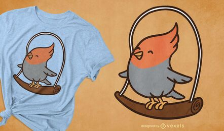 Cockatiel t-shirt design