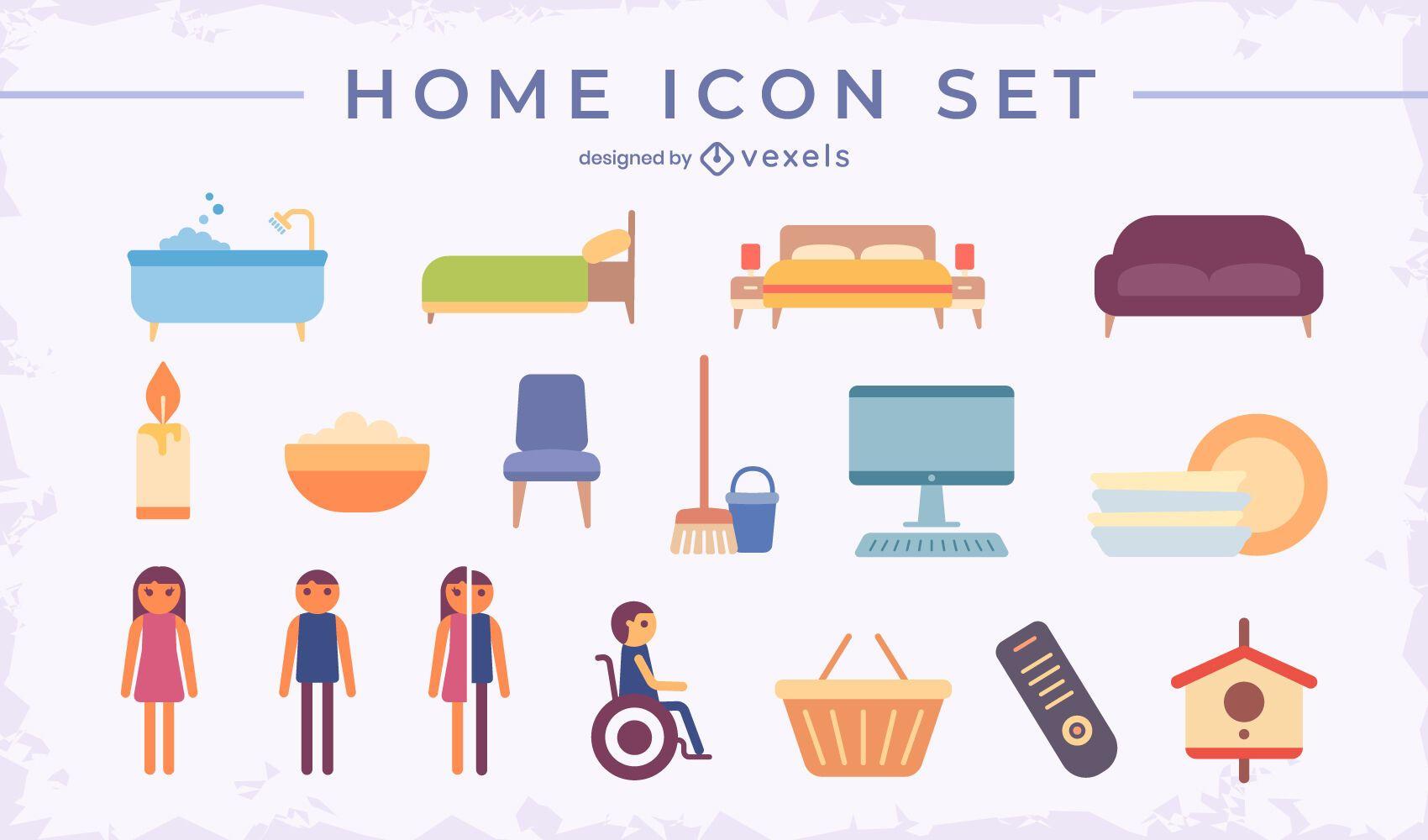Home flat set