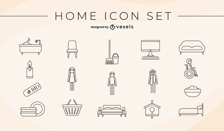 Home icon pack