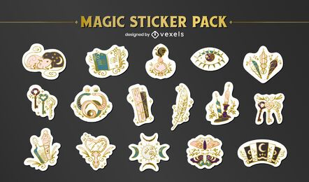 Magic sticker pack