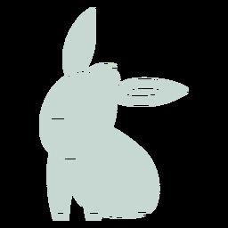 Recorte lindo burro