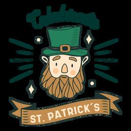 Emblema da celebração do dia de São Patrício