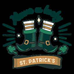 Emblema Lucky St Patricks